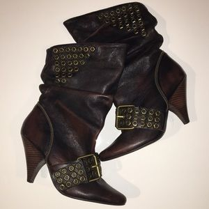 Naughty Monkey Slouchy Boots Size 8.5